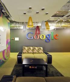 Перегородки в Московском офисе компании Google