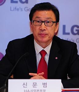 LG намерена стать лидером рынка бытовой техники, продемонстрировав в 2012 году двузначный рост продаж