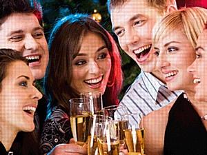 С Новым счастьем: новогодние speed dating вечеринки знакомств Hello Party приглашают