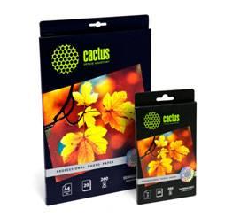 Cactus представляет серию фотобумаги «Профессионал» с разными типами покрытия
