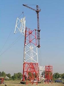 Базовые станции сети TETRA для Олимпиады-2014 будут построены по уникальной самоподъемной технологии