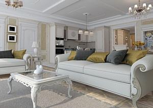 Разработаны интерьеры апартаментов курортного комплекса «Камелия» в Сочи