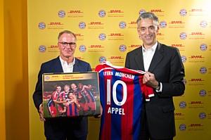 DHL стала партнером мюнхенской «Баварии»