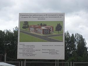 В новом микрорайоне г.п. Зеленоградский строится амбулатория