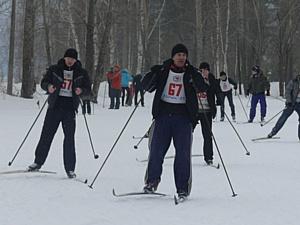 Лыжня Чайковского ЗГА  - 2012