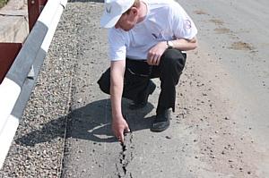 Активисты ОНФ в Хакасии добились восстановления моста через реку Бюря в селе Усть-Бюр