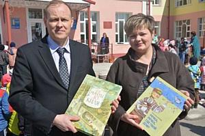 Сотрудники Чувашской энергосбытовой компании провели в Батырево экологическую акцию «Посади дерево»