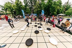 Смешарики научили маленьких петербуржцев играть в Го