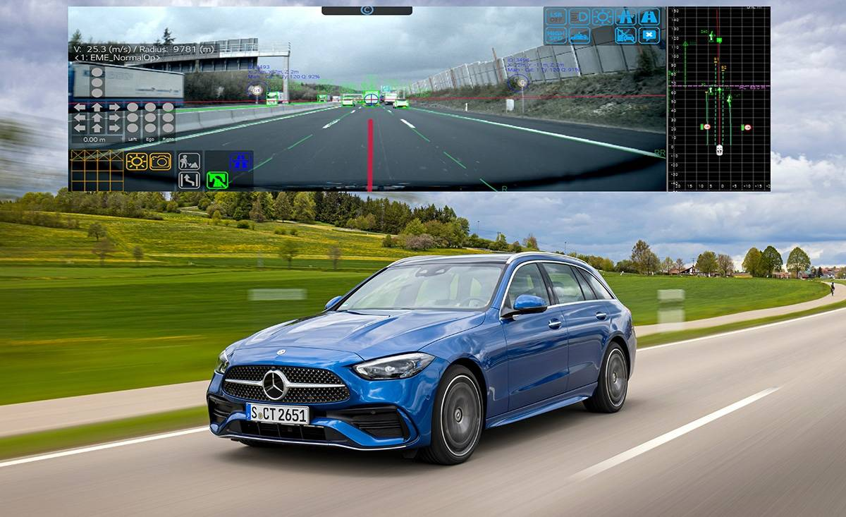 Модуль камеры LG ADAS повышает безопасность в Mercedes-Benz C-Class