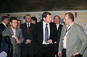 МЦ АУВД посетила делегация NATS