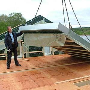 Pittsburgh Corning Europe с заводом Koljern применяет новую технологию каркасного строительства