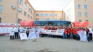 Донорский марафон «70 лет Победы»: 16 апреля в Санкт-Петербурге прошел День донора