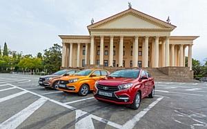 В Мега Моторс состоится презентация новой легенды Lada XRay