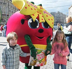 Москвичи дегустировали «Спело-Зрело» на фестивале «Московское варенье» 2015