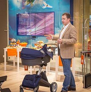 Представители бренда Stokke провели полезный мастер-класс для будущих мам