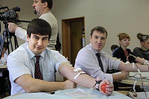 В Брянскэнерго прошла благотворительная акция по сдаче крови