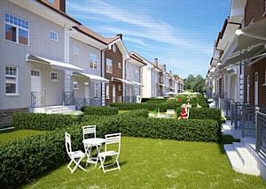 Новые 3D-визуализации для проекта «Апрелевка парк»