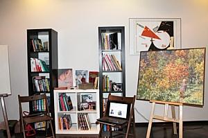 Новая офисная культура представила живописный мастер-класс на конференции «Лучшие HR-Практики 2013»