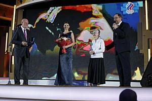 В Государственном Кремлевском дворце прошел Бал олимпийцев России