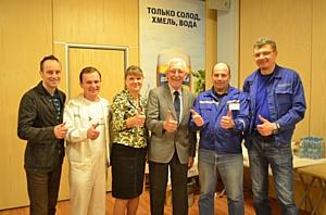Балтика стала cоорганизатором мастер-класса гуру концепции «Бережливого производства» Майкла Вейдера