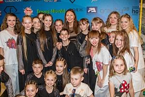 Обладатели Кубка Мира и звезды на детском празднике 1 июня