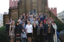 Курские энергетики посетили  Киево-Печерскую Лавру