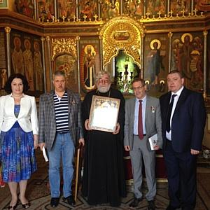 Михаил Юрьев и Михаил Леонтьев отмечены православными наградами
