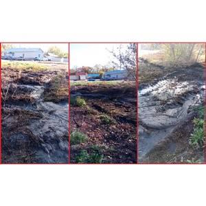 ОНФ просит власти Воронежа разобраться с бесхозной канализацией