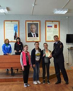 В ГИБДД Зеленограда состоялось награждение победителей олимпиады «Безопасное колесо»