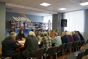 В Липецкэнерго состоялось заседание Совета ветеранов