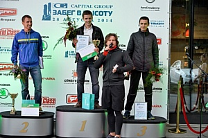 В Москве состоялся традиционный «Забег в высоту» на небоскреб «Город Столиц»