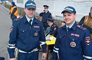 Зеленоградские инспекторы ГИБДД приняли участие в соревнованиях по автомногоборью
