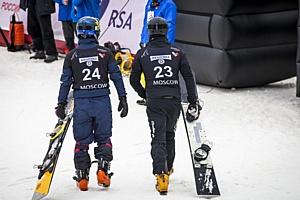 """При поддержке безалкогольного пива """"Балтика 0"""" состоялся этап кубка мира по сноуборду"""
