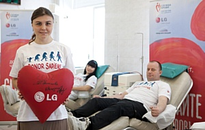 В Волгограде прошел День донора с участием Ларисы Ильченко