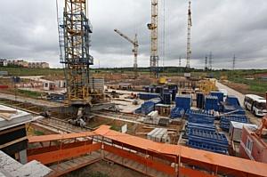 В ЖК «Мир Митино» начался монтаж технологических новых панельных жилых домов «Доммос»