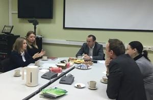 «Метро» и «Сбербанк» обсудили вопросы дальнейшего сотрудничества за «Деловым завтраком»