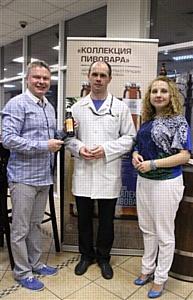 Участники образовательного проекта «Пивной сомелье» в Санкт-Петербурге узнали о роли автора в пивоварении