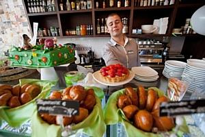В новом АндерСон в Зеленограде можно закидывать друг друга тортами