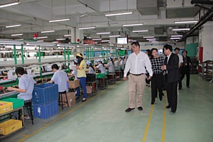 Правительство Венесуэлы посещает завод Huntkey с целью развития своего IT-рынка