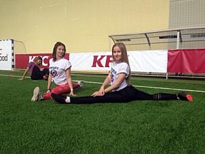 Фестиваль KFC Футбатл собрал более тысячи красноярцев