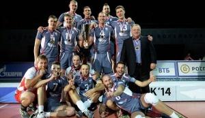 Asics поздравляет ВК «Белогорье» с Суперкубком
