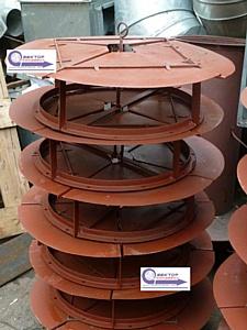 Воздухораспределители вентиляционные типовые - производство