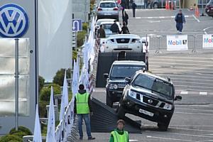 В Москве состоялся крупнейший автомобильный праздник - Major Day 2012