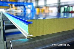 Три миллиона квадратных метров сэндвич-панелей было произведено «Металл Профиль»