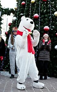 Coca-Cola Hellenic провела акцию «Рождественский караван»