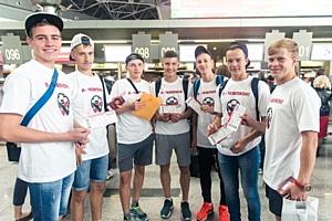 Итоги призовой поездки победителей Чемпионата KFC - 2015