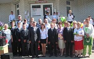 Представители Брянскэнерго поздравили учащихся подшефной школы-интерната с последним звонком