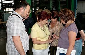 Состоялась экскурсия на «Севкабель» в рамках семинара ЦНТИ «Прогресс»