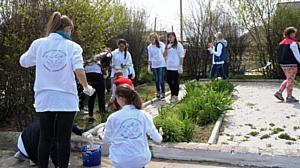 Таманские волонтеры приняли участие в мероприятиях, посвященных празднованию 70-летия Победы