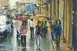 Лучшее из частной коллекции живописи НОК с 14 по 30 марта в галерее Лига арт-центра «Пушкинская 10»